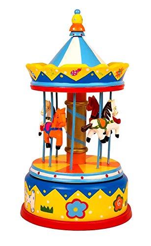 Musique carrousel chevaux boîte