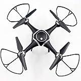 Tellaboull S7W Smart Selfie RC Quadrocopter Drohne Flugzeuge mit Wifi FPV 0.3MP HD Echtzeitkamera Höhenstand 3D-Flips