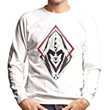 Assassins Creed Hood Line Drawing Silhouette Men's Sweatshirt