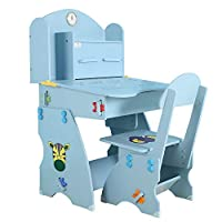Belingeya-hm Kids Desk and Chair Set Children