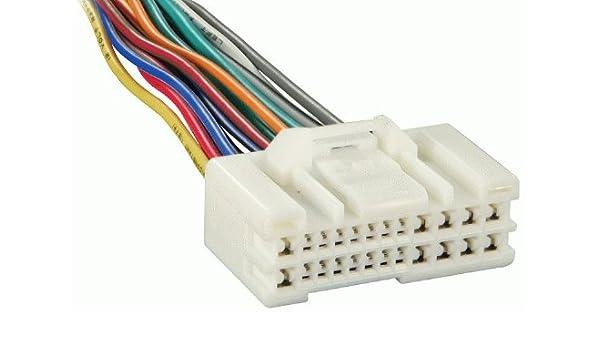 hyundai kia oem radio car stereo reverse wiring harness (71-1004):  amazon co uk: electronics
