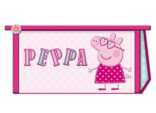 Estuche de lona Triangular Peppa Pig