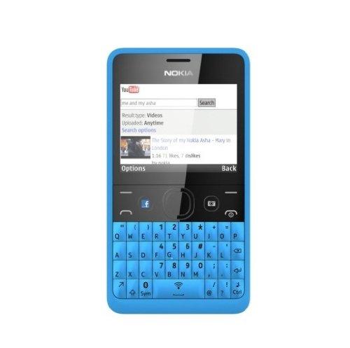 210 cyan nokia telefon ds qwertz-tastatur, 2 mp, dual-sim, cyan