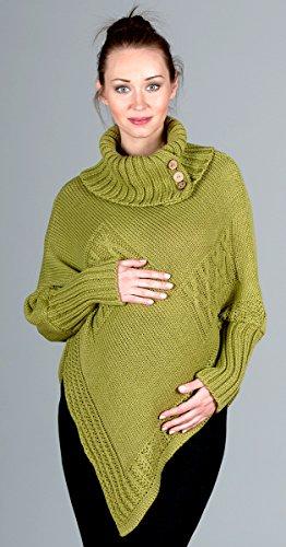 Poncho de grossesse 2004A - automne/printemps Vert