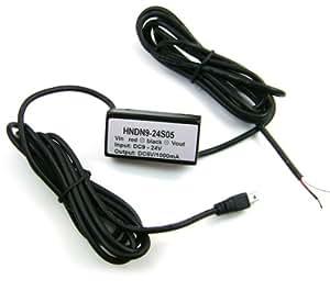 KFZ Ladekabel / Autoladekabel / Auto Lade Kabel (9 - 24 Volt) für den GPS Tracker TK 5000 - Marke Incutex