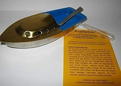 Amanda 698023 Knatterboot 14 cm lang Blechspielzeug Vorbild von 1930! von Amanda