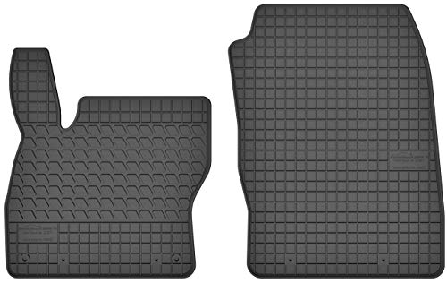 Gummimatten Winter Auto-matten Gummi hoher Rand 2-teilig ()