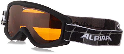 Alpina Kinder Skibrille Carvy 2.0, black, One Size, 7076431 (Kinder Skibrille)