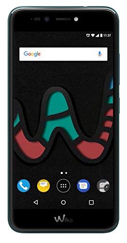 Wiko U Pulse Lite Deep Bleen (Smartphone, 5,2 Zoll HD, 13 MP Kamera, 8MP Selfie-Kamera, Android, Fingerabdruck, 32GB ROM/3GB RAM, Quad-Core CPU, 4G, Dual-SIM, Speicher erweiterbar um bis zu 128GB, Deep Bleen)