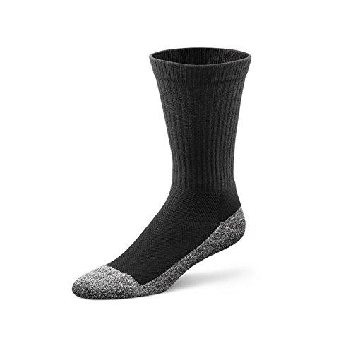 Dr. Comfort viel Raum Socken | Bamboo-Faser Polster | Diabetes & Arthritis Komfort (Für Diabetiker Socken Länge)