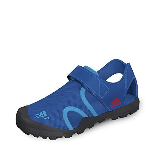 adidas Unisex-Kinder Captain Toey K Fitnessschuhe, Mehrfarbig (Belazu/Grisei/Rojact 000), 35 EU
