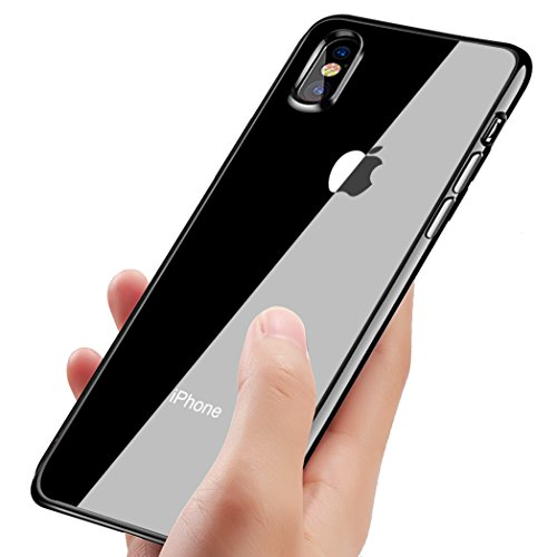 custodia silicone iphone x apple
