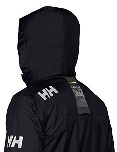 Helly Hansen Men's Crew Hooded Midlayer Waterproof Jacket - View of hood