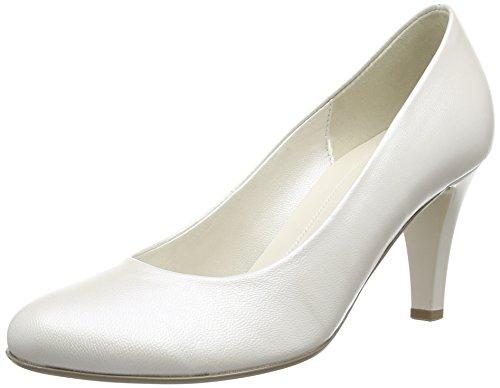 Gabor Lavender, Damen Pumps, Elfenbein (Off White Pearlised Leather), 41 EU
