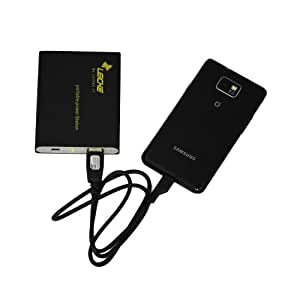 Paket Power Station Notebook/Externe Batterie für Handys, Smartphone, Tablet wie: Apple iPhone 3 G iPhone 3 G 4S 4, Apple iPad iPad2, Amazon Kindle, Amazon Kindle Fire 7, Samsung Galaxy Note N7000, Samsung i9001 Galaxy S Plus, Samsung Galaxy Nexus i9250, Samsung S5230, S5660 S5830 S5360 Galaxy S II (i9100) i9001, HTC Sensation XE, HTC Sensation XL, HTC HD Wildfire S, Motorola Defy +, Dell Streak, HTC, Nokia, Sony Ericsson – Handy, Smartphone, Tablet PC, PSP, GPS, Tizi Mobile TV, Kindle DX, Mobile GPS, Navigationsgeräte, PSP, Nintendo, MP3/MP4 Player, HTC Android, Droid, Navigon, Tom Tom und vielen anderen. Kapazität: 6000 mA – Ausgang 5 V 1000 mA