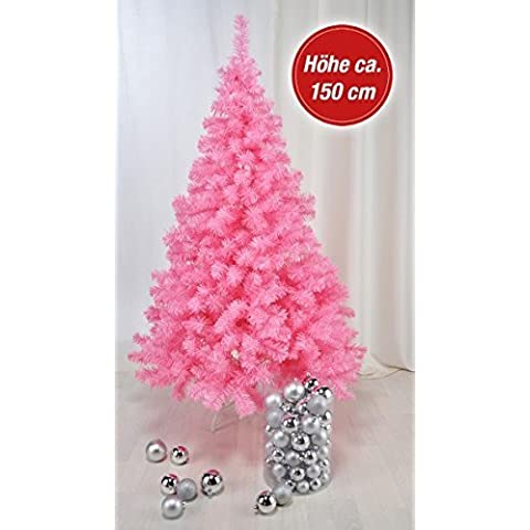 Árbol de Navidad artificial Gravidus Rosa de plástico 150 cm