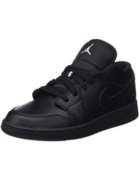 Nike Air Jordan 1 Low GS, Zapatillas para Niños