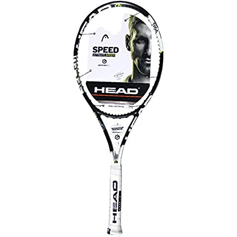 Head Graphene XT Speed Pro - Raqueta de tenis, color negro / verde / blanco, talla U40