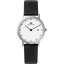 Danish Design Women's Quartz Watch with Silver IV12 Q272 Analogue Quartz Leather IV12 Q272