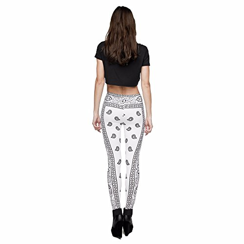 HDYS Quotidiana delle donne gambali Stampa movimento pantaloni Fitness lga29699