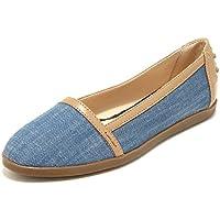 15641 mocassini donna TOD'S scarpa scarpe mocassino loafers shoes (Tods Tela)