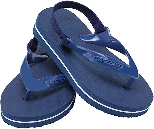Cressi Youth Baby Beach Flip Flops With Strap Pool Unisex