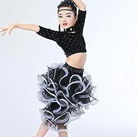 2b4e1e00cf8d Amazon.it  vestiti da ballo latino - Nero   Bambine e ragazze ...