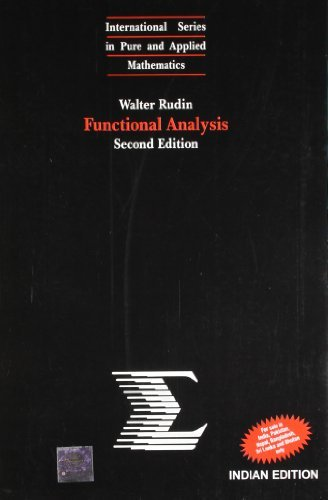 Functional Analysis by Rudin(1905-06-13)