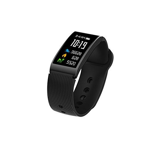 JIAYOUNX Fitness-Tracker,X3 silikon Band Hand-farbring Intelligente Schrittzähler Heart Blutdruck Watch Bluetooth-C