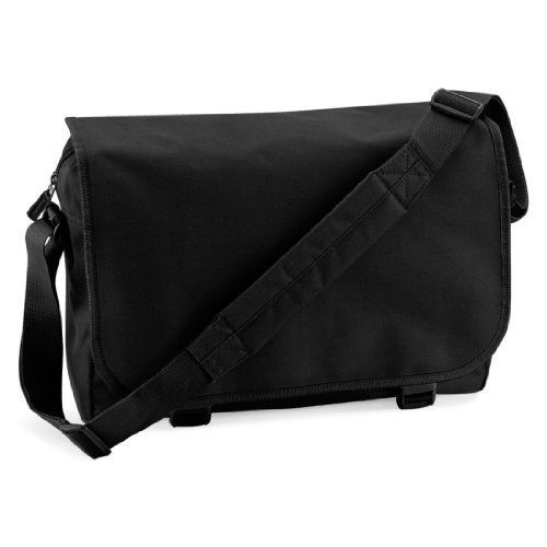 Borsa Messenger Shirtstown, Tracolla, Tracolla, Retro, Borsa, Colore Marrone Nero