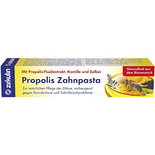 Zirkulin Naturheilmittel Zahnpasta mit Propolis-Fluidextrakt, Kamille und Salbei
