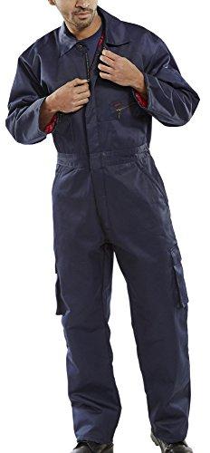 Click Workwear Herren Tasche gesteppt Overall Overall, XXX-Large, Navy, 1 (Blau Gesteppte Tasche)