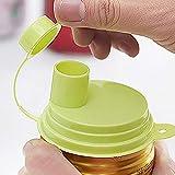 Easy Pull kann auslaufsicheren Verschlussdeckel Trinken. Tragbare Kunststoff-Verschlussvorrichtung