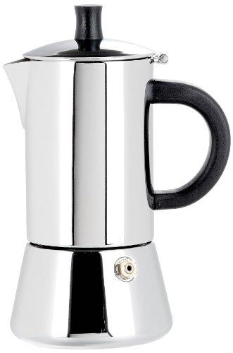 Cilio Espressokocher Figaro, 2 Tassen, Edelstahl, Induktion geeignet