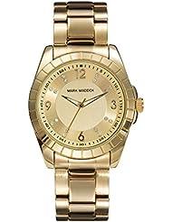 Mark Maddox MM3009-95 - Reloj de cuarzo para mujer, correa de acero inoxidable