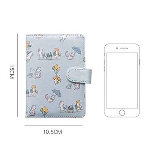 Tasche Notizbuch Niedlichen Hund Katze Leder Notizbuch Tragbare Cartoon Hand Buch Notizbuch A6 Tagebuch Planer Programm Agenda Notizbuch Journal Geschenke -