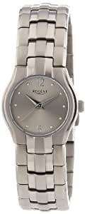 Regent Damen-Armbanduhr XS Analog Quarz Titan 12290347