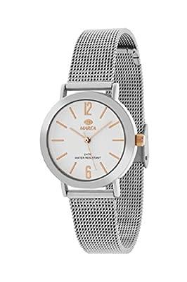 MAREA B41188/6 Reloj de Mujer Cuarzo Metal Malla Milanesa Tamaño 32 mm