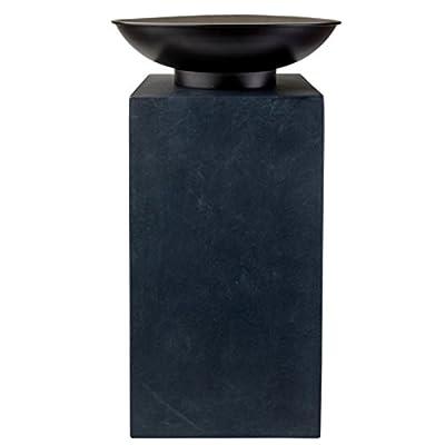 onlyclic@ Moderne Feuerschale Feuerkorb Feuerstelle aus Gusseisen Ø 39,5cm