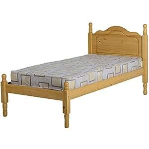 Seconique sol letto singolo struttura in legno di pino for Struttura letto singolo