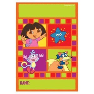Dora the Explorer Treat Sacks 8ct by Factory Card and Party Outlet