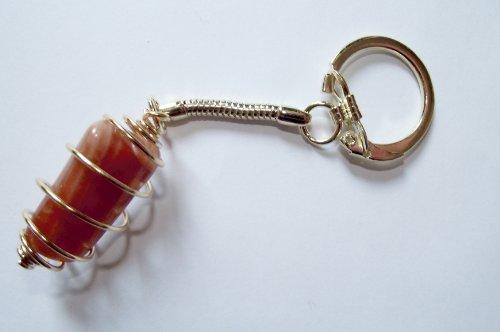 moonstone-gold-spiral-gemstone-keyring