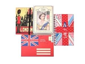 Office Boutique Ensemble de papeterie décoratif Grande-Bretagne vintage
