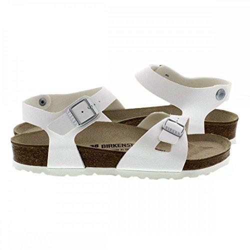 Birkenstock Rio White Womens Sandals White