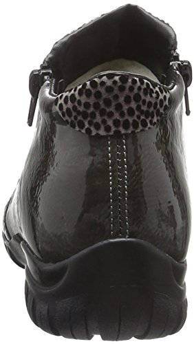 Rieker L4696, Bottes Femme Noir (Schwarz/fumo/grau)