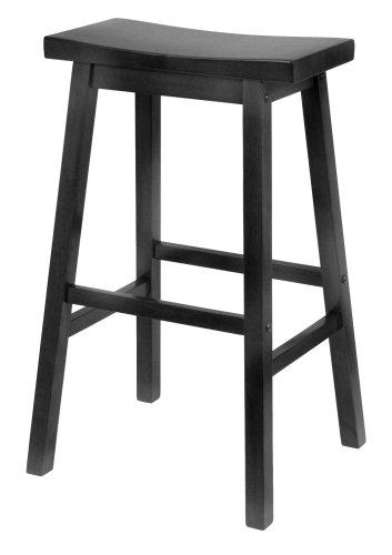 winsome-20089-saddle-seat-29-inch-stool-black