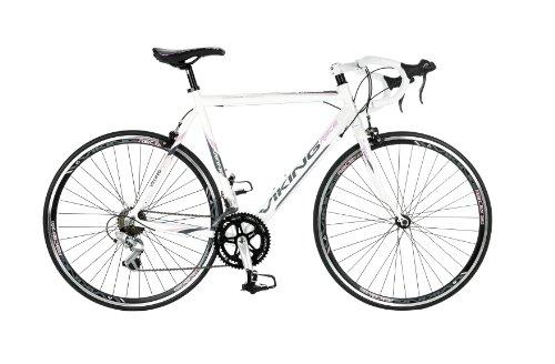 Viking Women's Elysee STI 700 C 14 SPD Road Racing Bike – White, 53 cm