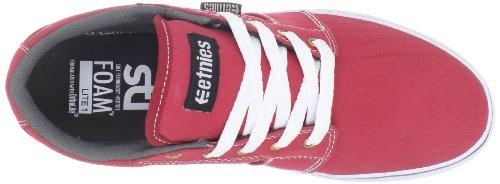 Etnies BARGE LS 4101000351-623 Herren Skateboardschuhe Rot (RED/WHITE/GREY 623)