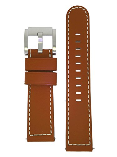TW Steel Marc Coblen Armband Uhrenband Uhrenarmband Leder 22 MM Braun LB_BR_S