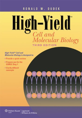 High-Yielda??? Cell and Molecular Biology (High-Yield Series) by Dr. Ronald W. Dudek PhD (2010-12-21)